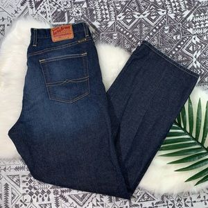 Lucky Brand classic fit straight leg jeans